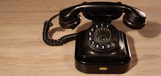 Rotary Phone Ringing