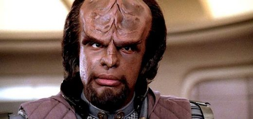 Captain Worf incoming message