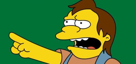 Nelson Simpsons Haha