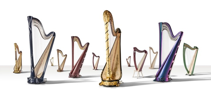 electric harp ringtone