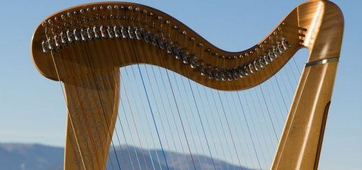 harp message tone