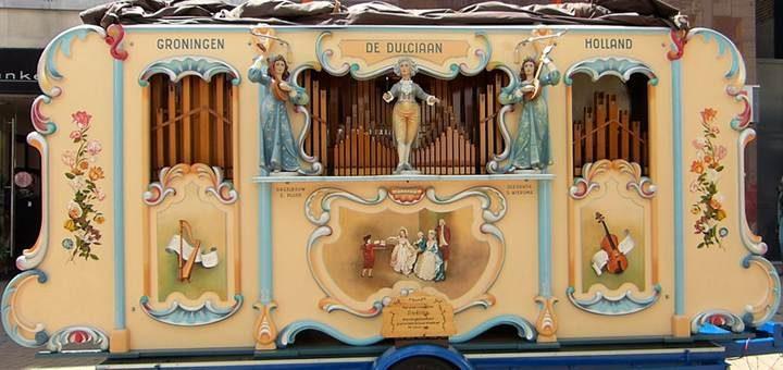 la paloma ringtone street organ music